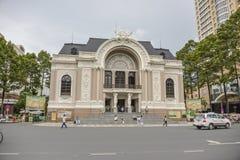 Opera house Ho Chi Minh City, Vietnam Royalty Free Stock Photo