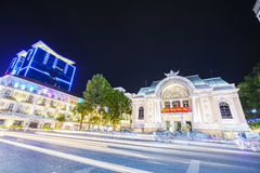 Opera House, Ho Chi Minh City, Vietnam Royalty Free Stock Image