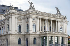Opera House. Image of the Opera House in Zurich, Switzerland Stock Photos