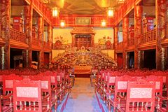 Opera House In Hue Imperial City, Vietnam UNESCO World Heritage Royalty Free Stock Photography