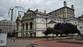 The Opera House in Kiev stock image