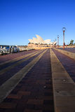 SYDNEY, NSW/AUSTRALIA-APRIL 27 : Opera house is the landmark of Sydney city. Stock Images