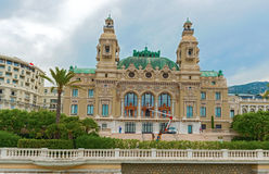 The Opera House in Monaco Stock Photos