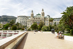 Opera House, Monte Carlo, Monaco Royalty Free Stock Photography