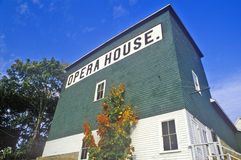 Opera House in New Harbor, ME Royalty Free Stock Photo