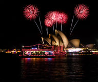 Opera house new year. Stock Photography