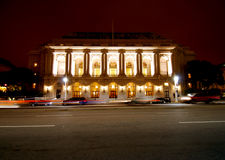 Opera House at Night Stock Photography