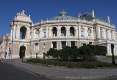 Opera house in Odesa. Ukraine Stock Photography
