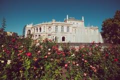 Opera house in Odessa royalty free stock photos