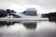 The Opera House in Oslo, Norway Stock Image