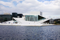 The Opera House in Oslo, Norway Royalty Free Stock Images