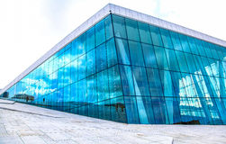 Opera house in Oslo, Norway Stock Photo