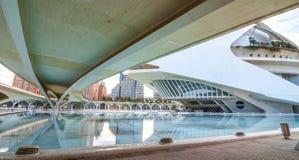 Opera house, Palau de les Arts Reina Sofia in Valencia, Spain. Royalty Free Stock Photo