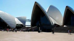 Opera house pan stock video footage