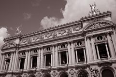 Opera House in Paris Stock Images