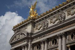 Opera House; Paris Stock Image