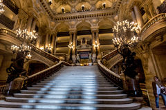 Opera House. In Paris France, Grand Stair Case Stock Image