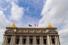 Opera house in paris,france Stock Photos