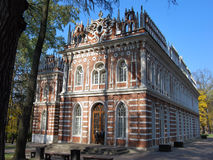 The opera house in park Tsaritsyno. In Moscow in Russia Stock Photography