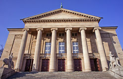 Opera house in Poznan Stock Photo