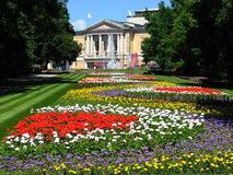 Opera House in Summer time at Halle, Germany Stock Image