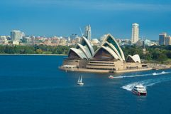 Opera House ,Sydney,Australia. Royalty Free Stock Photo