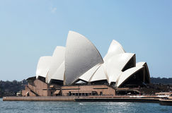 Opera House and Sydney harbor Stock Image