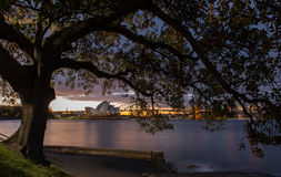 Opera house in Sydney. Royalty Free Stock Images