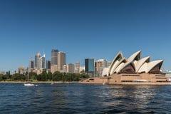 Opera House and Sydney skyline, Australia. Stock Photo
