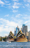 Opera house in Sydney. View of the opera house in Sydney Royalty Free Stock Image