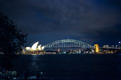 The Opera house is a symbol of Australia Stock Photo