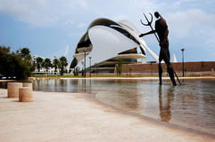 Opera house in Valencia Stock Image