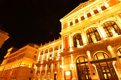 The Opera house in Vienna Royalty Free Stock Images