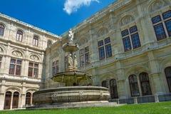 Opera House of Vienna Royalty Free Stock Photos