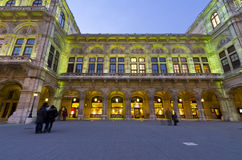 Opera House, Vienna, Austria Stock Photos
