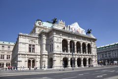 The Opera house in Vienna  , Austria Royalty Free Stock Image