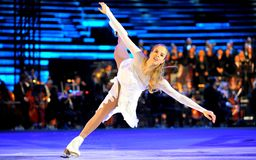 Opera on Ice - Intimissmi 2015 Stock Photos