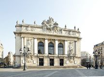 The Opera of Lille (Lille, North, France) Royalty Free Stock Photos