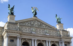 Opera Lviv Stock Photography