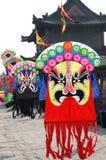 Opera mask Kite. Chinese traditional opera mask Kite.Xian,China stock image