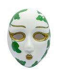 Opera Mask on white Background Royalty Free Stock Photos