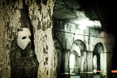 opera maskowy maskaradowy fantom Obrazy Royalty Free