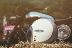 Opera mechanica  motorbike Stock Photos