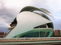 Opera of Valencia Spain stock images