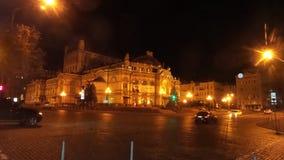 Opera nacional de Ucrânia Fotos de Stock Royalty Free