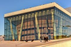 Opera Norvegia di casa di Oslo Immagini Stock Libere da Diritti