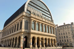 The Opera Nouvel in Lyon, France Stock Photography