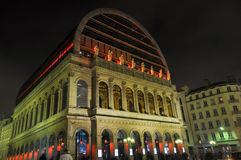The Opera Nouvel in Lyon, France Royalty Free Stock Photos