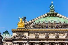 Opera obywatel de Paryż - Uroczystej opery opera Garnier Paryż, Fr fotografia royalty free