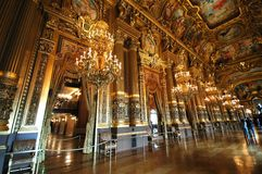 Opera obywatel de Paryski Garnier, Francja obrazy royalty free